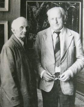 Я. Красневич та Д. Крвавич, 1985 р.