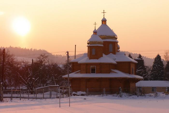 Добромиль. Церква. 20 грудня 2009 р.