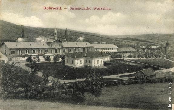 Dobromil. - Salina-Lacko Warzelnia.
